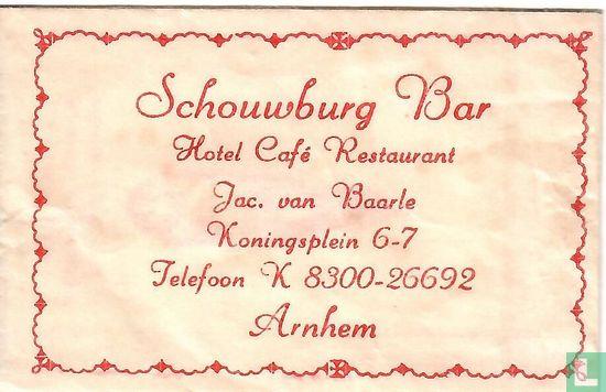 Bag - Schouwburg Bar Hotel Café Restaurant