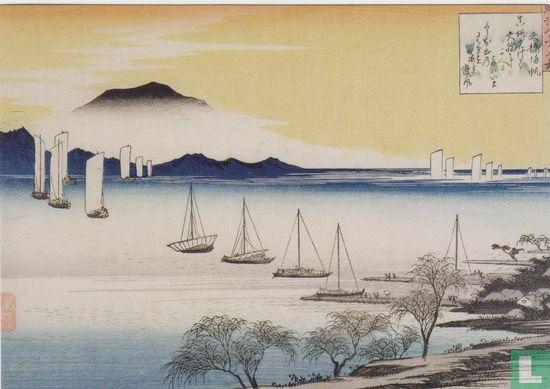 Cambridge - Returning Sails at Yabase, 1834