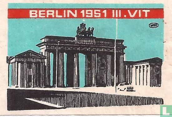 Berlin 1951 III. vit
