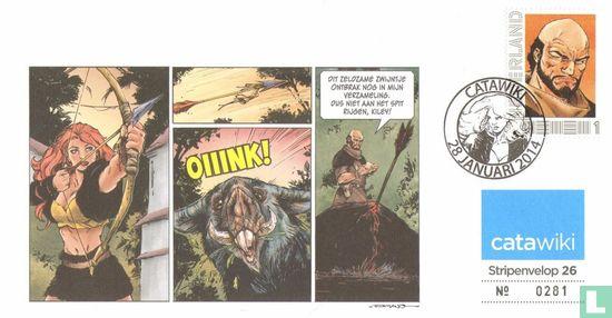 Stripenvelop 26: Roodhaar - Afbeelding 1