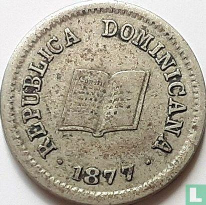 Dominicaanse Republiek 5 centavos 1877 - Afbeelding 1