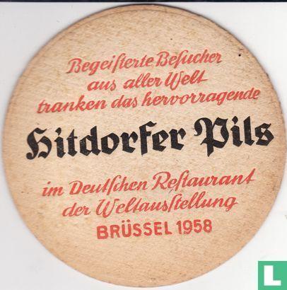 Hitdorfer Pilsner / Brüssel 1958