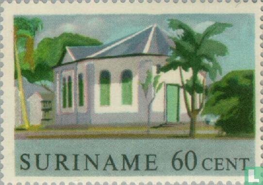 Suriname - Historic buildings