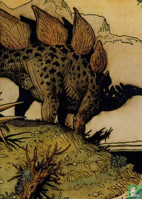 Lost Worlds by William Stout - Stegosaurus