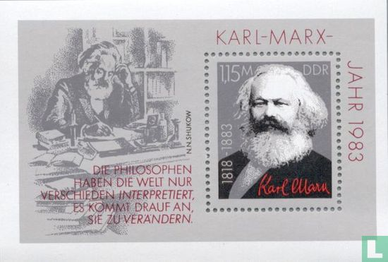 DDR - Karl Marx 1818-1883