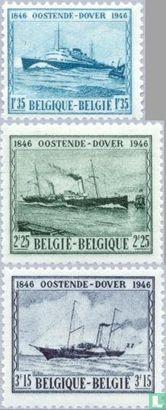 België [BEL] - Maildienst Oostende-Dover