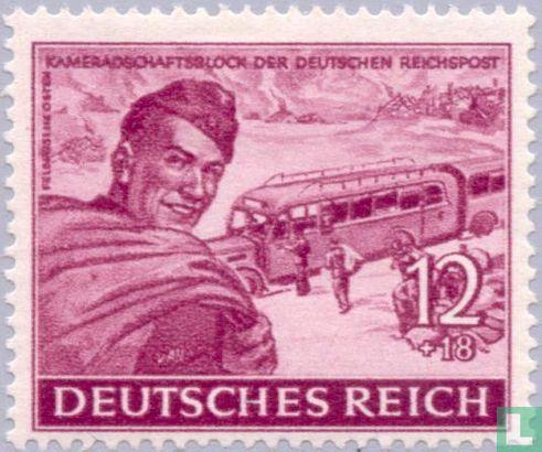 Deutsches Reich - Kameradschaftsblock der Deutsche Reichspost