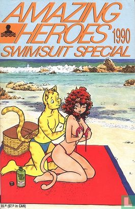 Amazing Heroes (tijdschrift) [USA] - 1990 Swimsuit Special