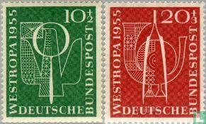 Germany [DEU] - 1955 Stamp Exhibition 'Westropa (BRD 43)