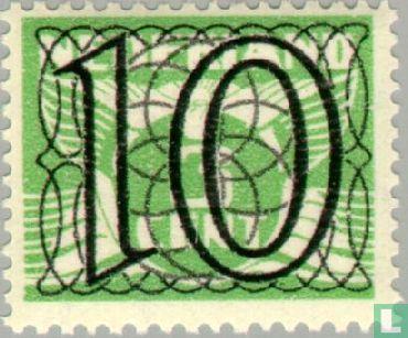 Netherlands [NLD] - 'Guilloche' or 'Trellis' Stamps