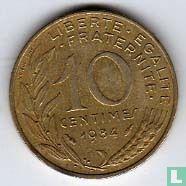 France - France 10 centimes 1984