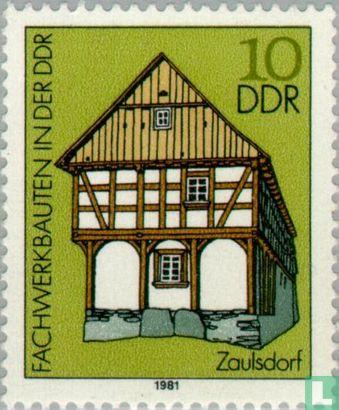 GDR - Half-timbered houses