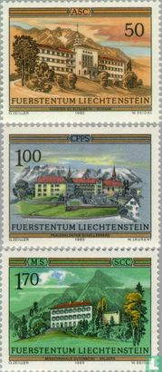 Liechtenstein - 1985 Monasteries (LIE 282)