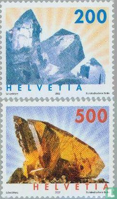 Switzerland [CHE] - Minerals