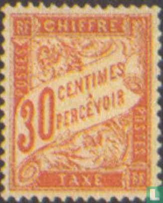 Frankrijk [FRA] - Cijfer (type Duval)