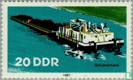 GDR - River navigation boats
