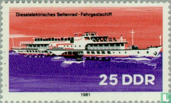 GDR - River navigation vessels