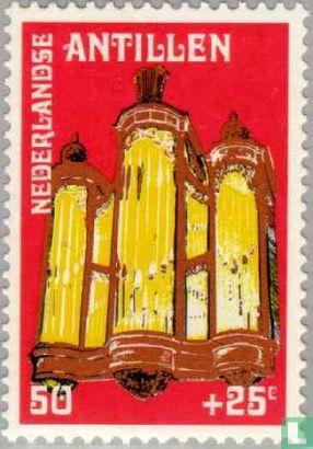 Antilles néerlandaises - Église fortifiée 1770-1980