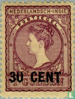 Dutch East Indies - Provisional issue