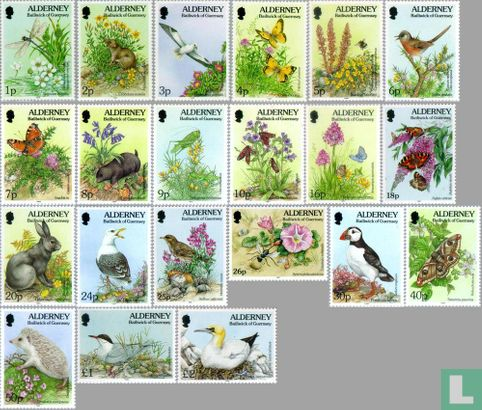 Alderney - Flora and fauna