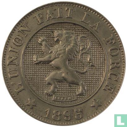Belgium - Belgium 10 centimes 1895 french
