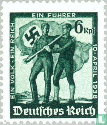 Duitse Rijk - Volksraadpleging Oostenrijk