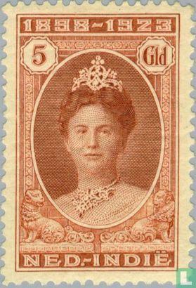 Nederlands-Indië - Regeringsjubileum Wilhelmina
