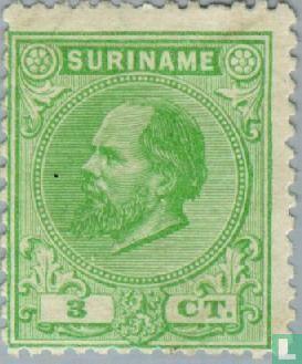 Suriname - Le roi Guillaume III