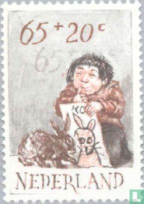 Pays-Bas [NLD] - Timbres pour enfants