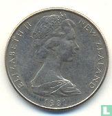 New Zealand 5 cents 1981 - Image 1