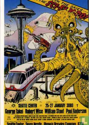 Lost Worlds by William Stout - Sci Fi Xpo Poster