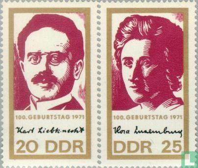RDA - Liebknecht et Luxemburg