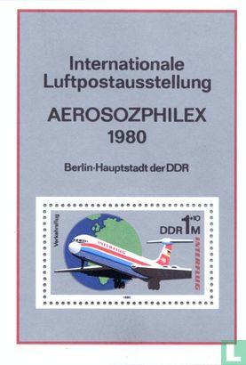 GDR - Stamp Exhibition Aerosozphilex