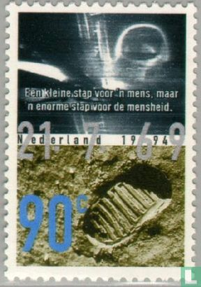 Netherlands [NLD] - Anniversaries - First Man on the Moon