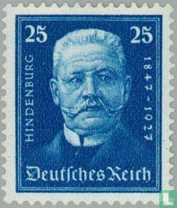 Duitse Rijk - Hindenburg- Verjaardag 1847-1934