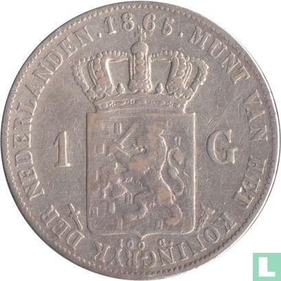 Nederland - Nederland 1 gulden 1865