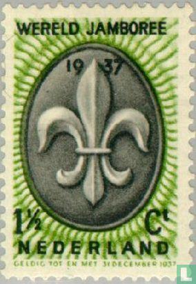 Netherlands [NLD] - 5th World Scout jamboree
