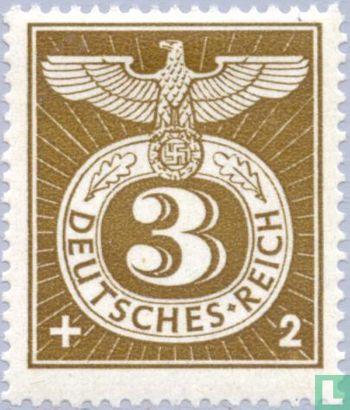 Deutsches Reich - Ziffer