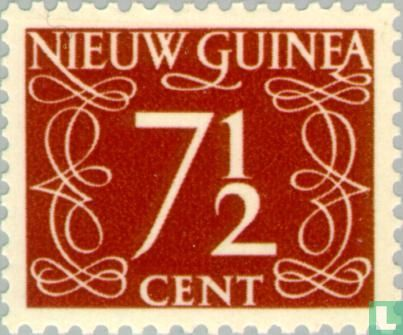 Nederlands-Nieuw-Guinea - Cijfer