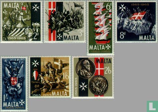 Malta - Liberation great siege 400 years