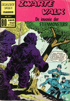BlackHawk - De invasie der steenmonsters!