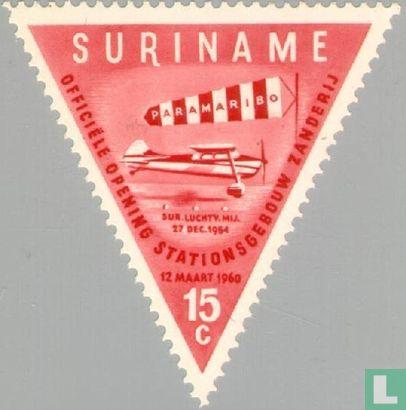Suriname - Opening airport Zanderij