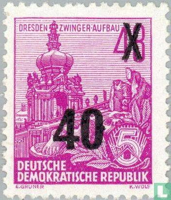 GDR - Five Year Plan imprint