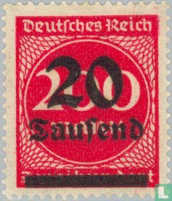 German Empire - Mark print