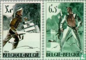 Belgium [BEL] - Resistance and Liberation