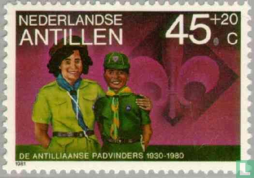 Antilles néerlandaises - 50 ans de Scoutisme