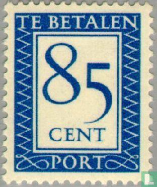 Nederland [NLD] - Portzegel