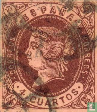 Espagne [ESP] - La reine Isabelle II