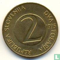 Slovenia 2 tolarja 1995 - Image 1