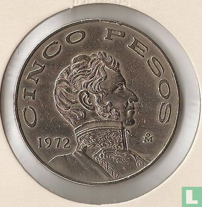 Mexico - Mexico 5 pesos 1972
